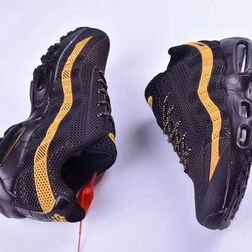 DCCKIG3 Nike Air Max 95 'Black/Yellow' Men Sneaker