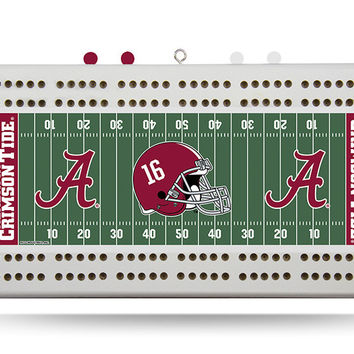 ALABAMA FIELD CRIBBAGE BOARD