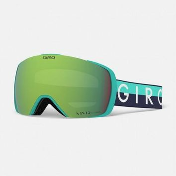 Giro - Contact Glacier Throwback Snow Goggles / Vivid Emerald + Vivid Infrared Lenses