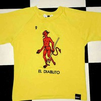 SWEET LORD O'MIGHTY! EL DIABLITO CROP TEE
