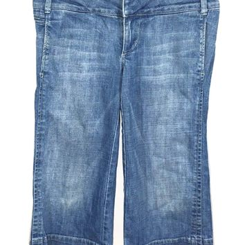 Joes Jeans Holy Capris Gaucho Wide Leg Flare Cropped Stretch Womens 29 (32 x 19) - Preowned