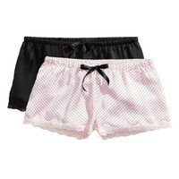 2-pack Pajama Shorts - from H&M