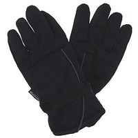 Black Structure Gloves 3M Thinsulate Winter Sport Mens One Size NEW