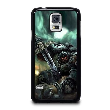 warhammer black templar samsung galaxy s5 case cover  number 1