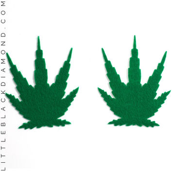 Green Pot Leaf Pastease® Pasties