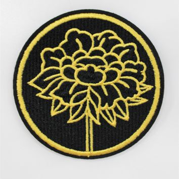 """Gold Flower"" Patch"