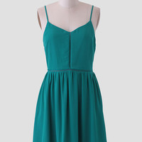 West Street Dress In Teal