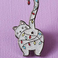 Christmas Kitty | ENAMEL PIN