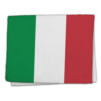 "Italian Flag All Over 11""x18"" Dish Fingertip Towel All Over Print"