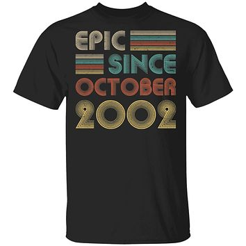 Epic Since October 2002 Vintage 18th Birthday Gifts