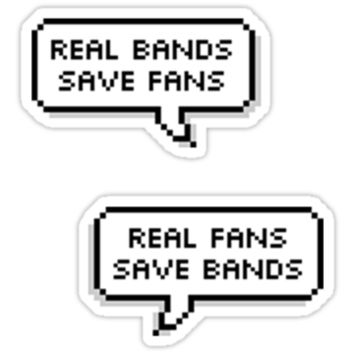 real bands save fans