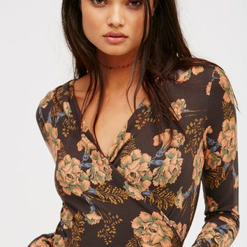 Free People Be Your Baby Top