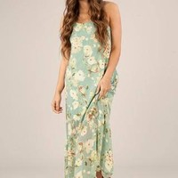 Keeping It Floral Maxi Dress