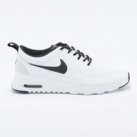 Nike Air Max Thea White and Black Trainers - Urban Outfitters