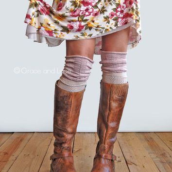 Grace & Lace Slouch Top Boot Sock™