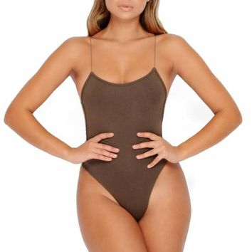 Spring and summer women's clothing fashion backless sexy tie with a versatile jumpsuit
