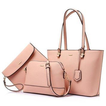 VONEXO9 Handbags for Women Shoulder Bags Tote Satchel Hobo 3pcs Purse Set