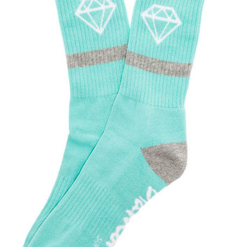 The Rock Sport Socks in Diamond Blue
