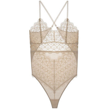 Italian Eco Lace Bodysuit
