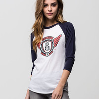 REBEL8 Avi8tor Womens Raglan Tee | Raglans & L/S Tees