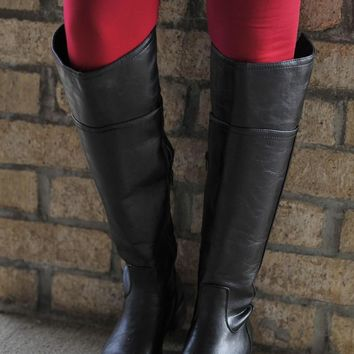Black Tall Timbers Boots