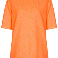 Daisy Jaquard Oversized Tee - New In This Week - New In - Topshop USA