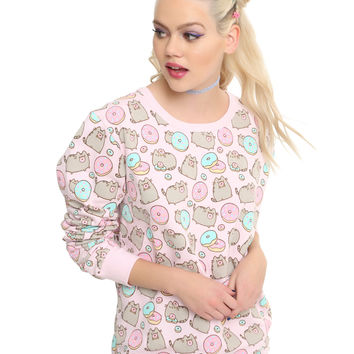 Pusheen Donut Girls Sweatshirt