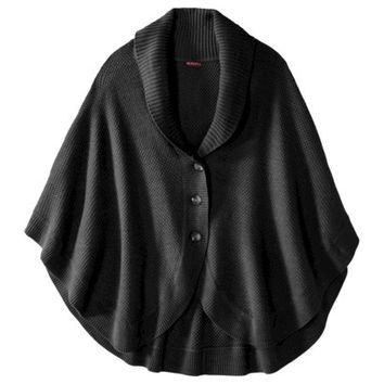 Merona® Women's Plus-Size Poncho Sweater - Assorted Colors