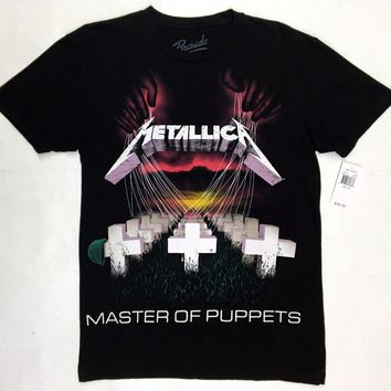 Metallica MASTER OF PUPPETS T-Shirt NWT 100% Authentic Front & Back Design