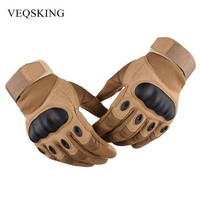 Military Tactical Gloves Men's Gloves Hiking Gloves Outdoor Sport Gloves For Hunting Climbing Cycling 3 Colors