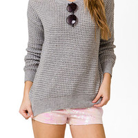Relaxed Dropped Shoulder Sweater