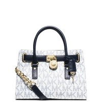 Hamilton Medium Logo Satchel | Michael Kors