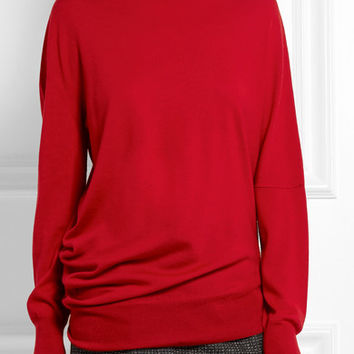 Balenciaga - Wool, silk and cashmere-blend turtleneck sweater