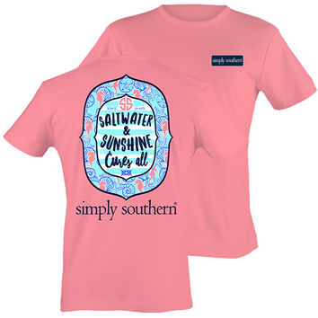Simply Southern Saltwater & Sunshine Cure All Beach T-Shirt