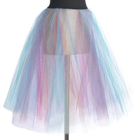ModCloth Quirky Fit & Flare Been Around the Twirl Petticoat