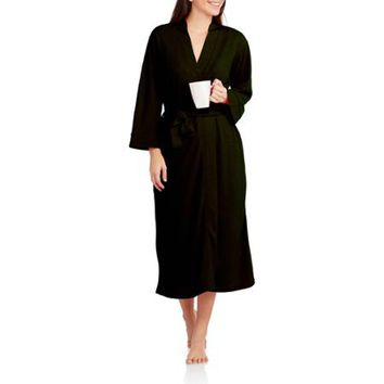 Secret Treasures Women's Waffle Knit Long Robe (Sizes S-4XL) - Walmart.com