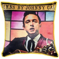SOURPUSS JOHNNY CASH HYMNS PILLOW