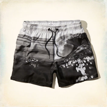 Photo Real Guard Fit Swim Shorts