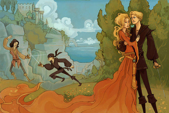As You Wish Princess Bride Inspired 8x12 print by theGorgonist