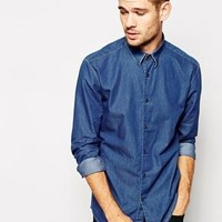 Selected | Selected Chambray Shirt at ASOS