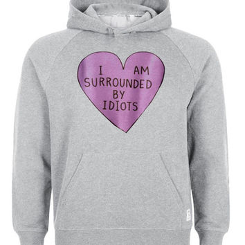 i am surrounded by idiots hoodie