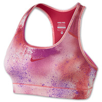 Women's Nike Pro Core Fitted Splatter Sports Bra