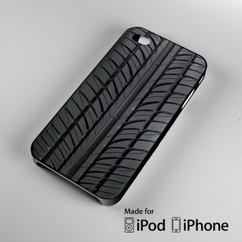 fun cute tires iPhone 4 4S 5 5S 5C 6, iPod Touch 4 5 Cases