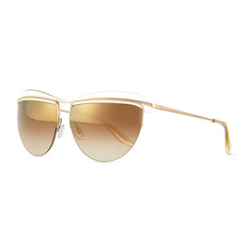 Christian Roth The Affair Sunglasses, Champagne - Barton Perreira