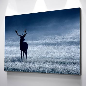 Deer Anticipation Canvas Set