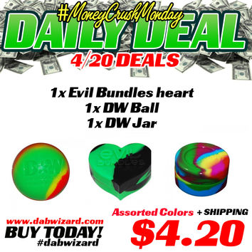 DAILY DEAL 04/20/2015 - 1x Evil Bundles heart + 1x DW Ball + 1x DW Jar