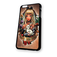 Alice Follow The Rabbit iPhone 6 Plus case