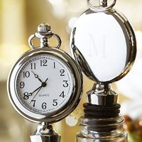 Clock Bottle Stopper | Pottery Barn