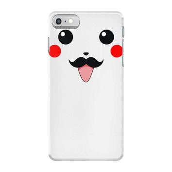 pikachu moustache iPhone 7 Case
