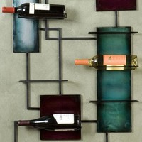 Wine Storage Wall Sculpture - Wine Racks - Home Bar Furniture - Furniture | HomeDecorators.com